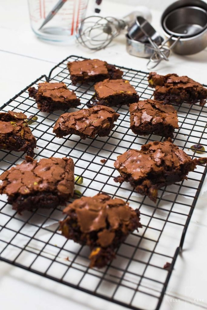 Choc Brownies Crumbly