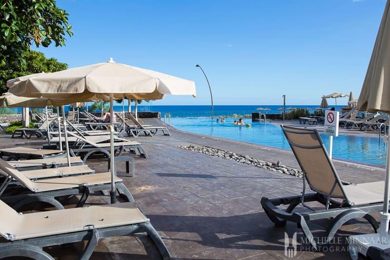 Swimming facilities at San Blas in Tenerife