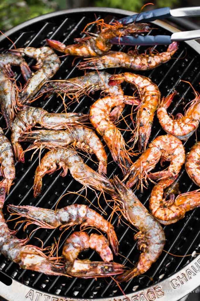 On Barbie Prawns