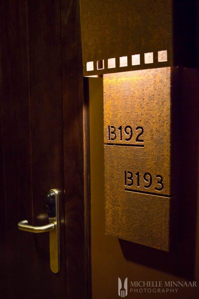 San Blas bedroom front doors