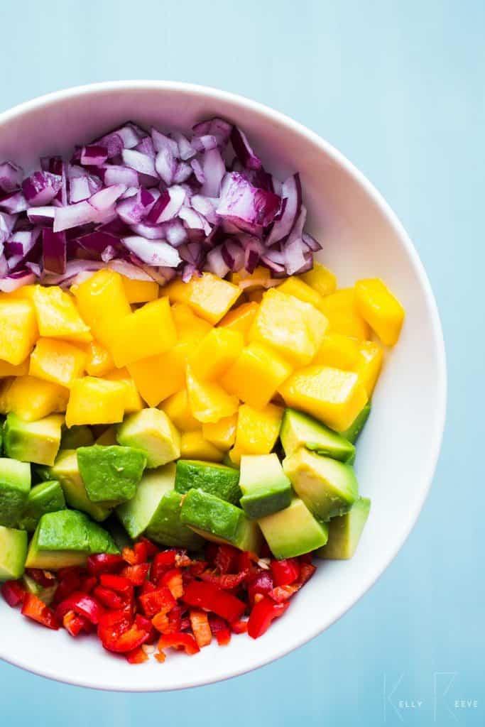 Ingredients Salsa