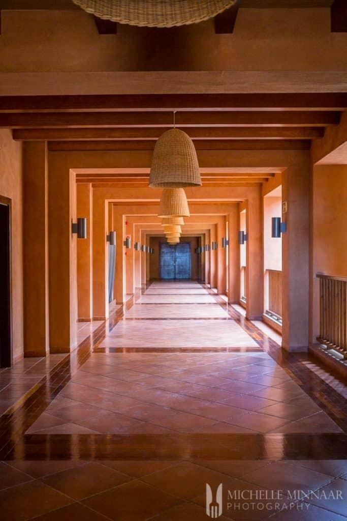 San Blas Nature resort corridor