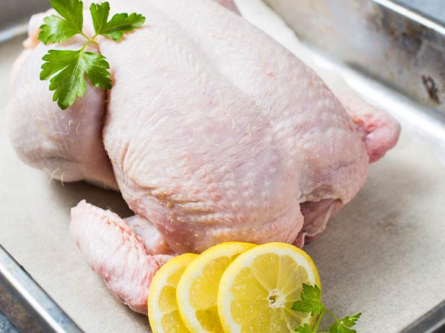Chicken Lemon Parsley Whole