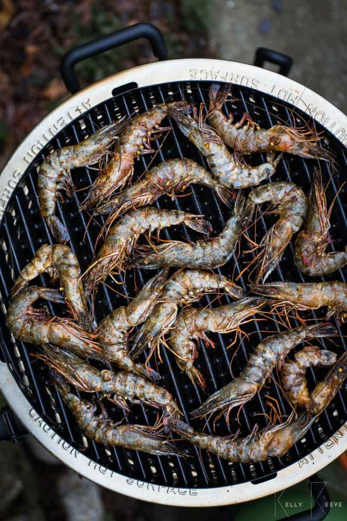 BBQ Whole Shrimp