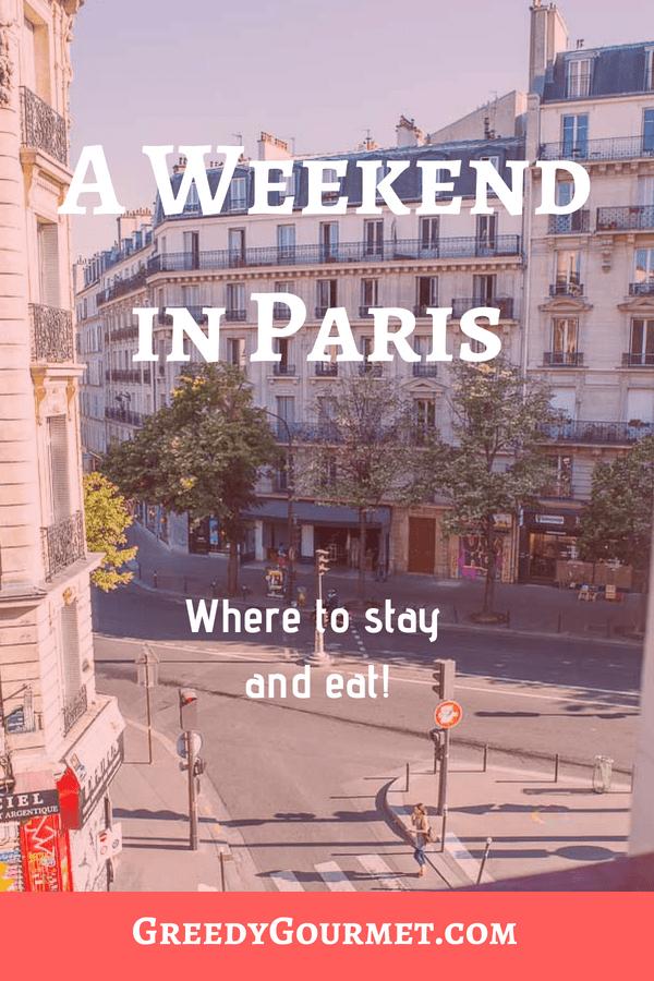 A weekend in paris pin