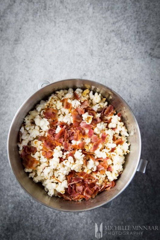 Popcorn Bacon Mixed