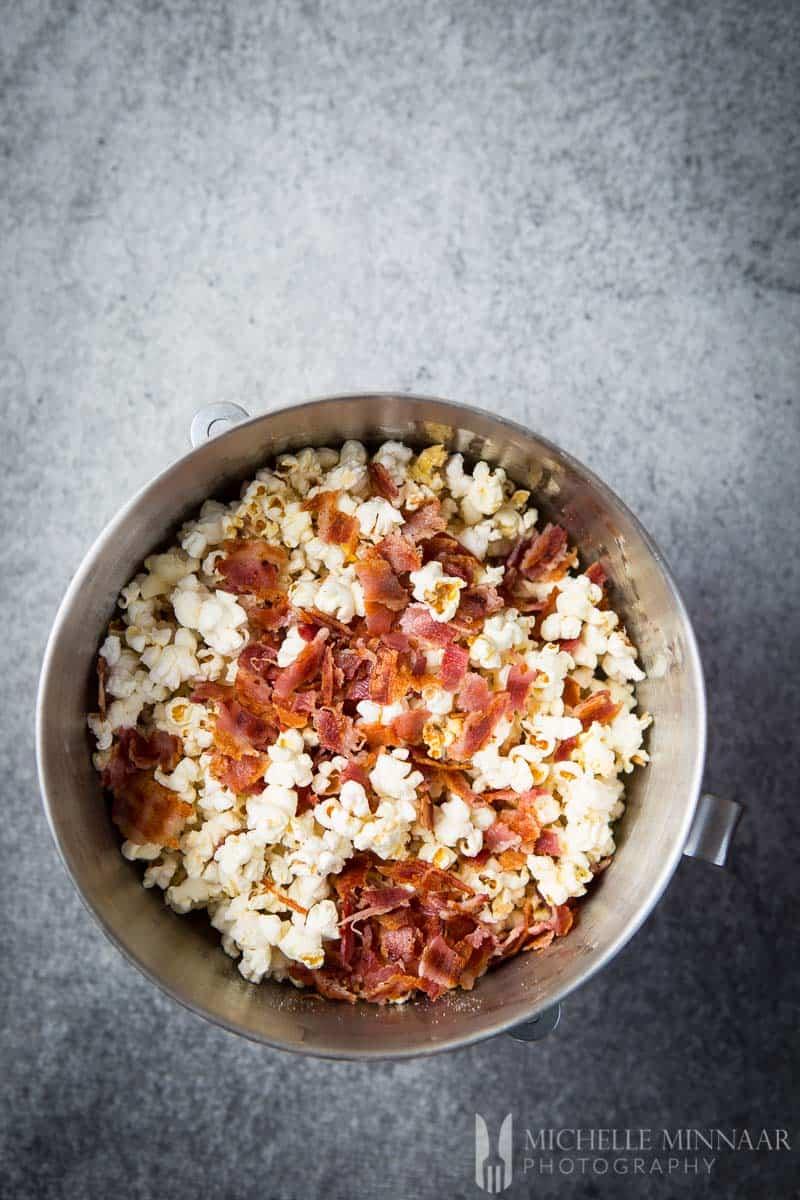 Popcorn Bacon Mixed