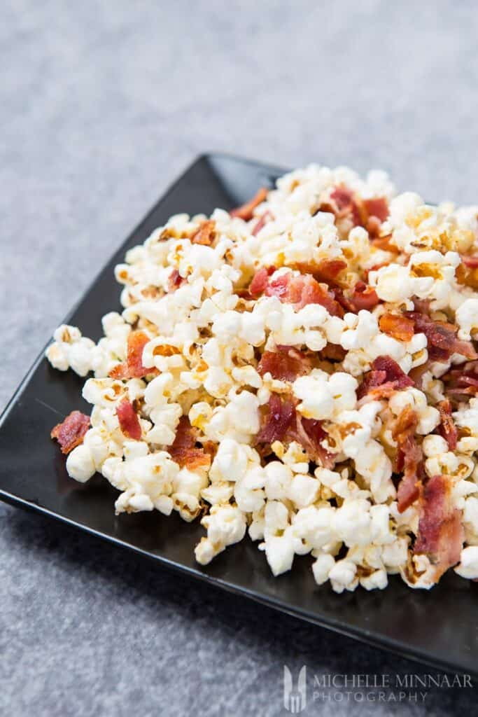 Honey With Bacon Popcorn