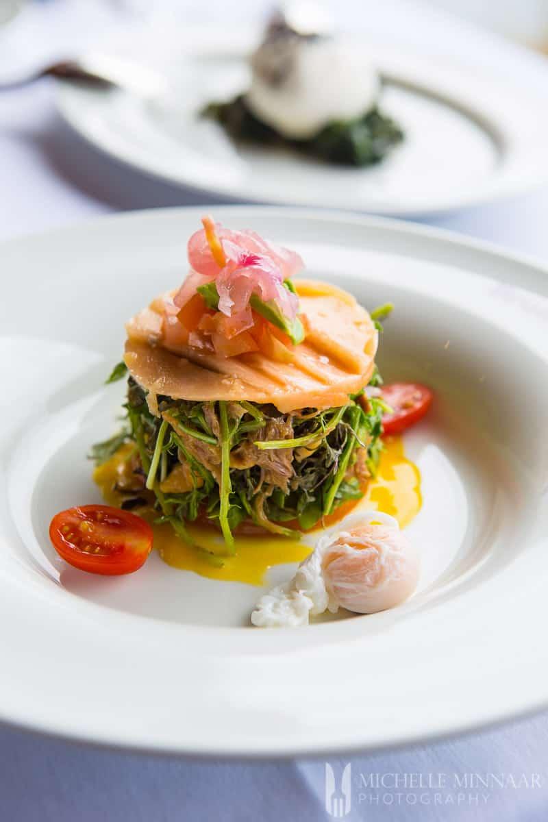Papaya & Mackerel Salad
