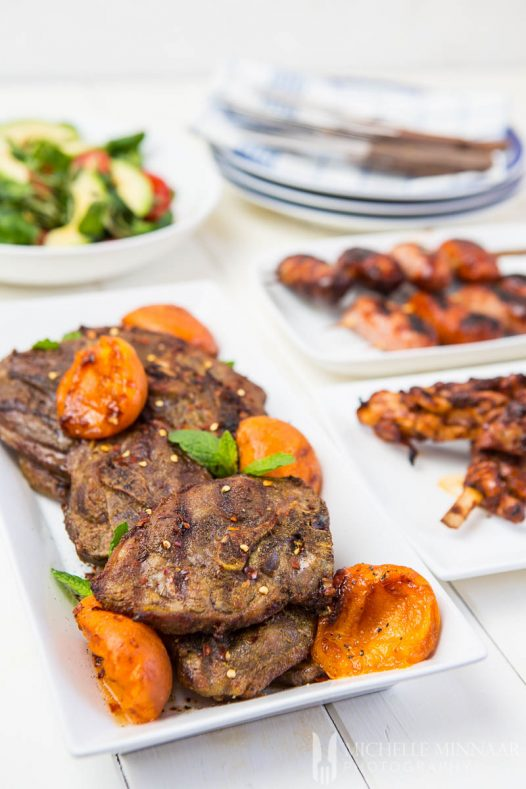 Apricots Curried Lamb Chops