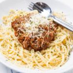Spaghetti Bolognese Gluten Free