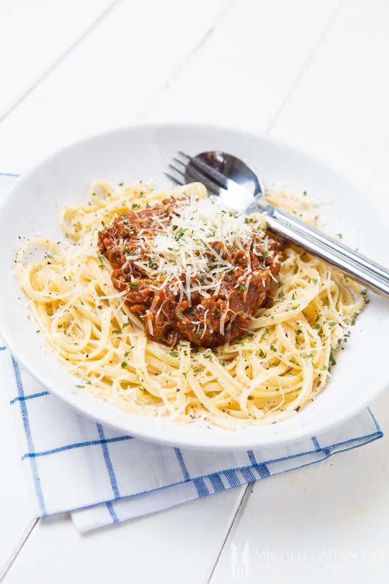 Gluten Free Spaghetti Bolognese