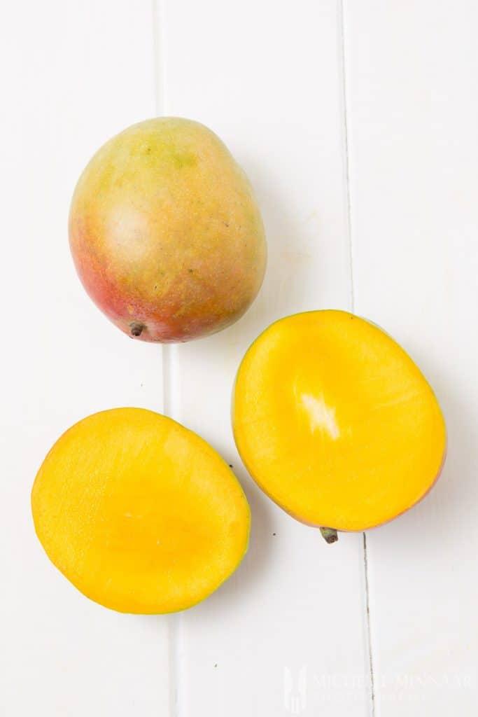 Mango Halved