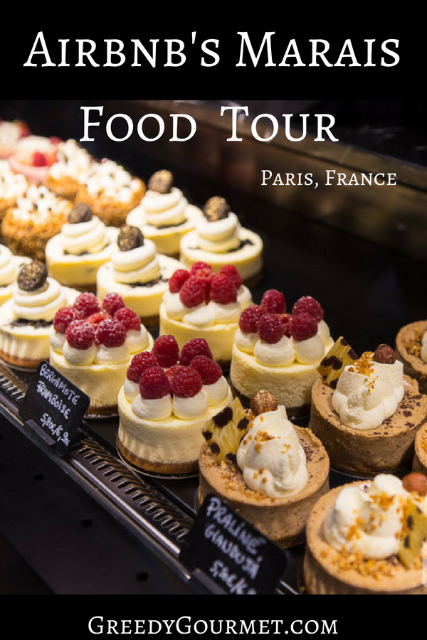 marais foodie tour Pin