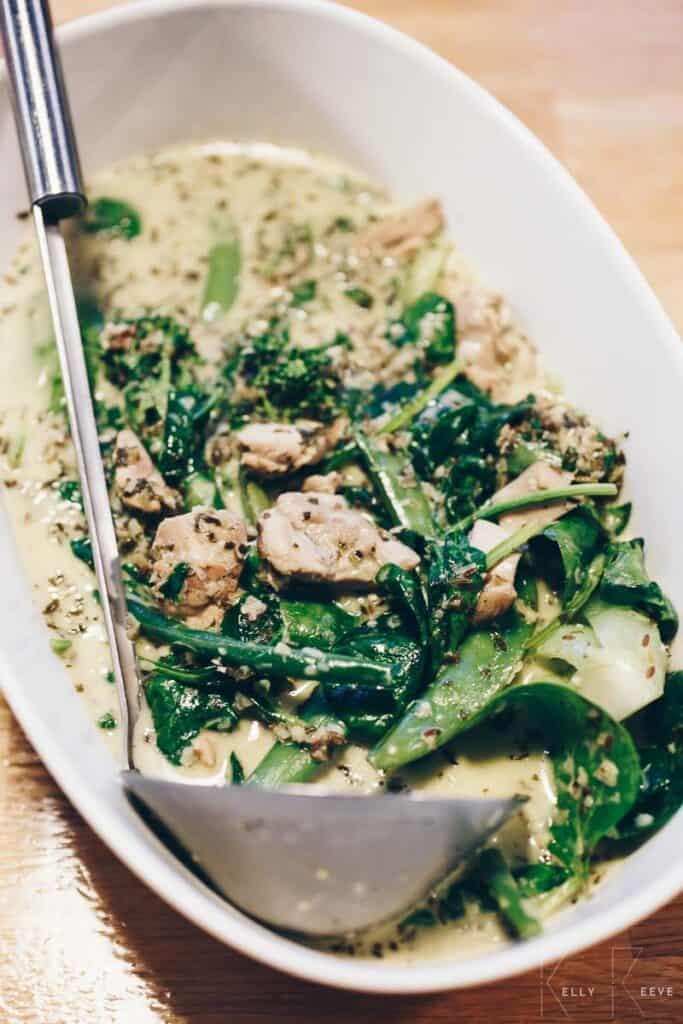 Green Chicken Curry Thai