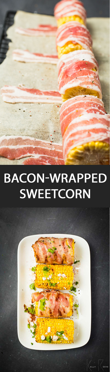 Bacon Wrapped Sweetcorn