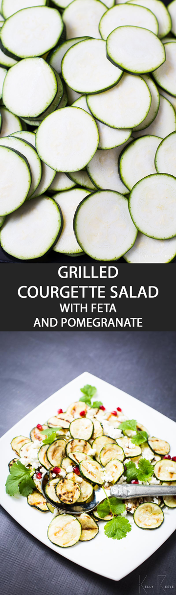 Grilled Courgette Soup
