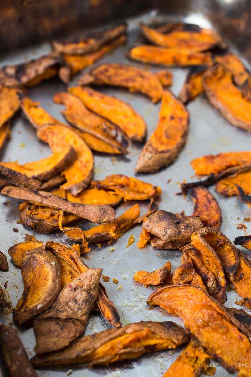 Sweet Potato Fries Baked
