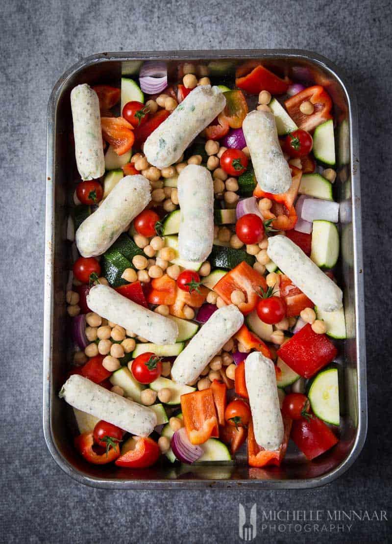 Veg Frozen Sausages