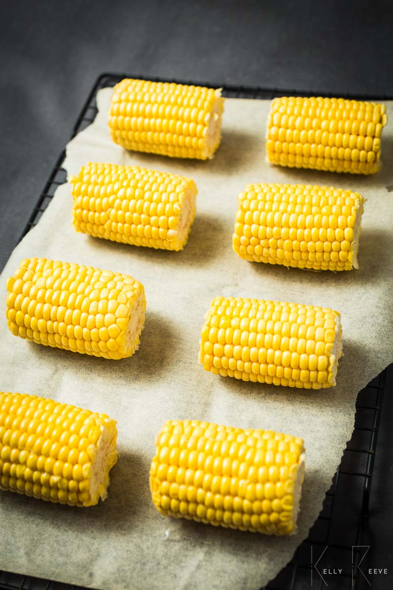 Sweetcorn Cobs Halved