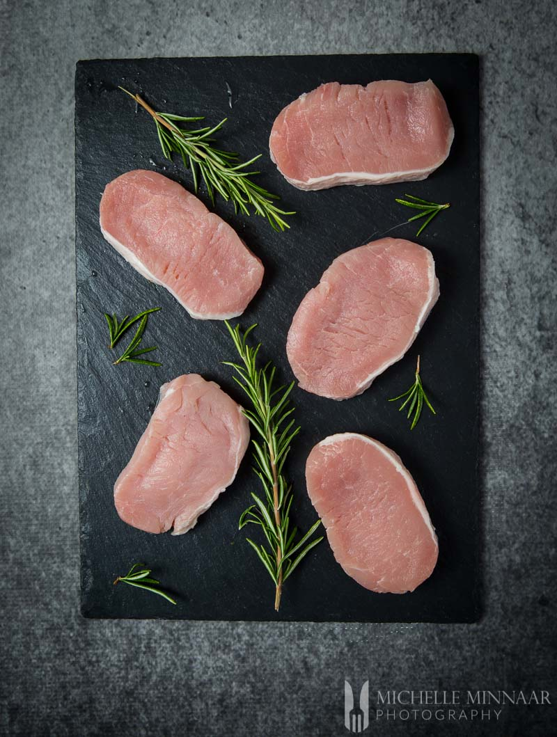 Pork Loin Medallions Raw