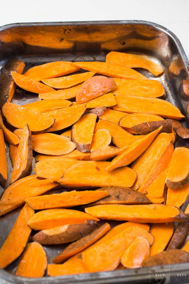 Sweet Potato Slices Raw