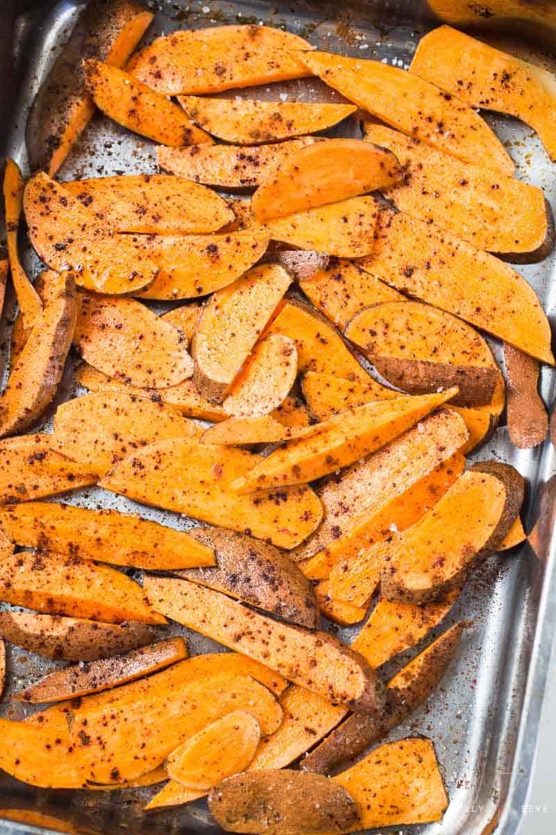 Sweet Potato Spicy Sprinkled
