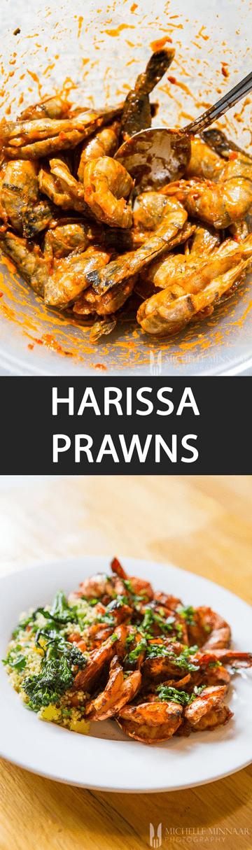 Harrisa Prawns
