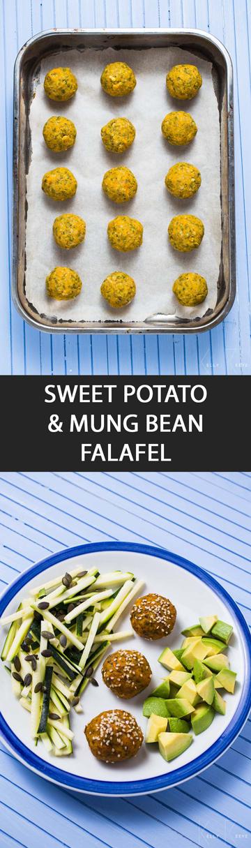 Mung Bean Falafel