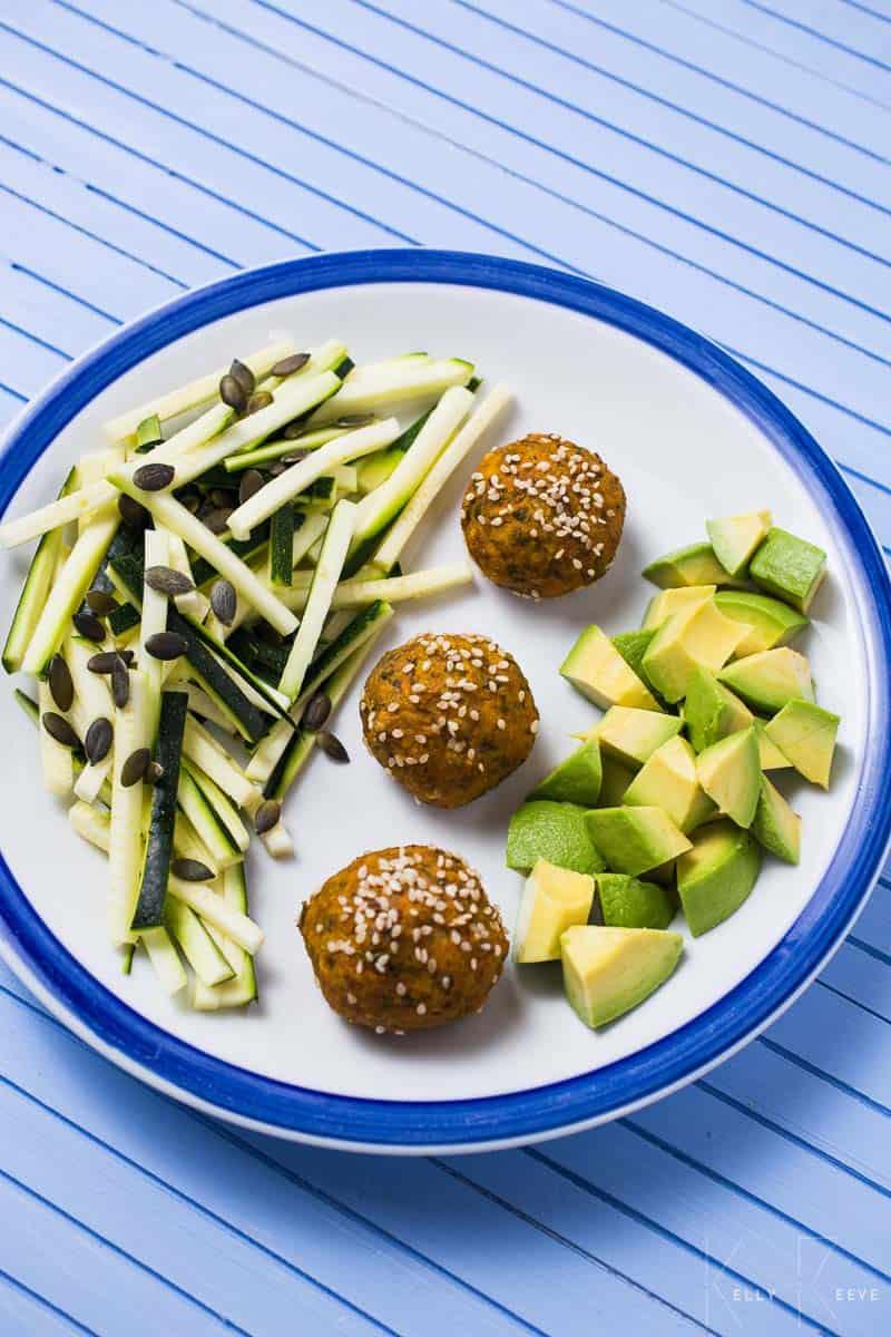 Salad Mung Bean Balls