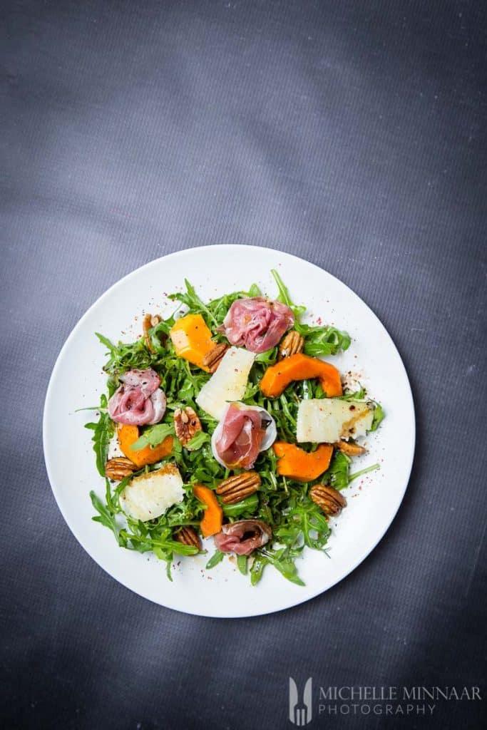 Salad Papaya Parma Ham