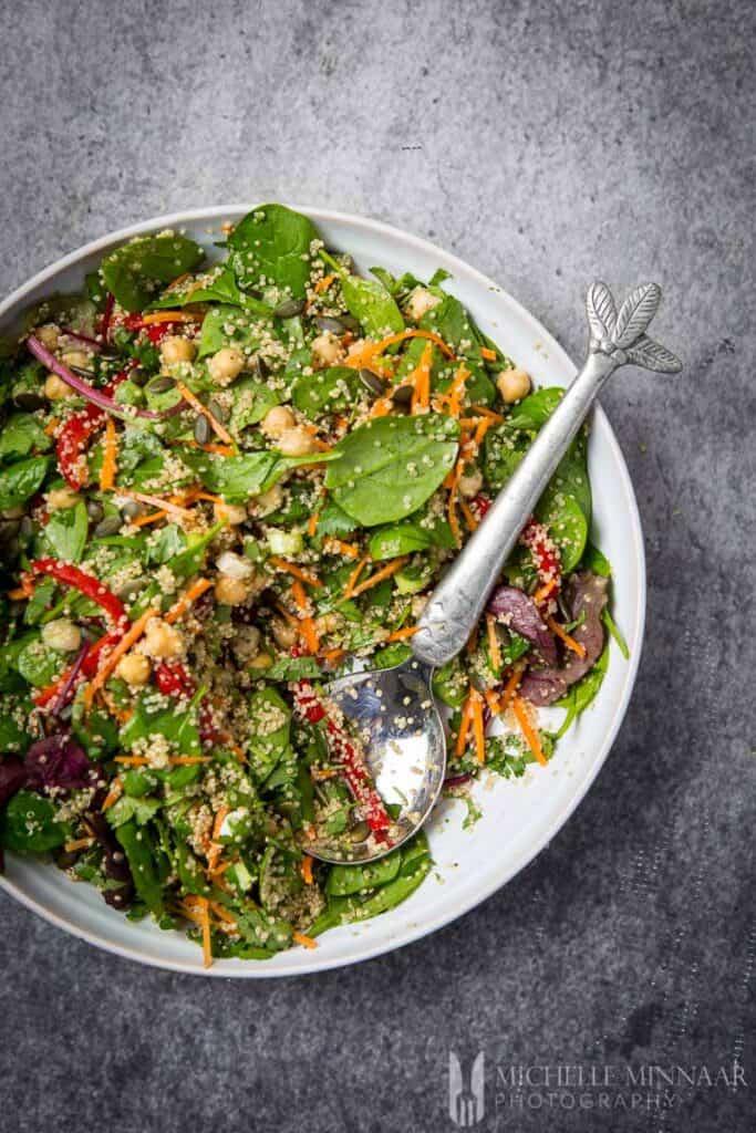 Salad Rainbow Quinoa