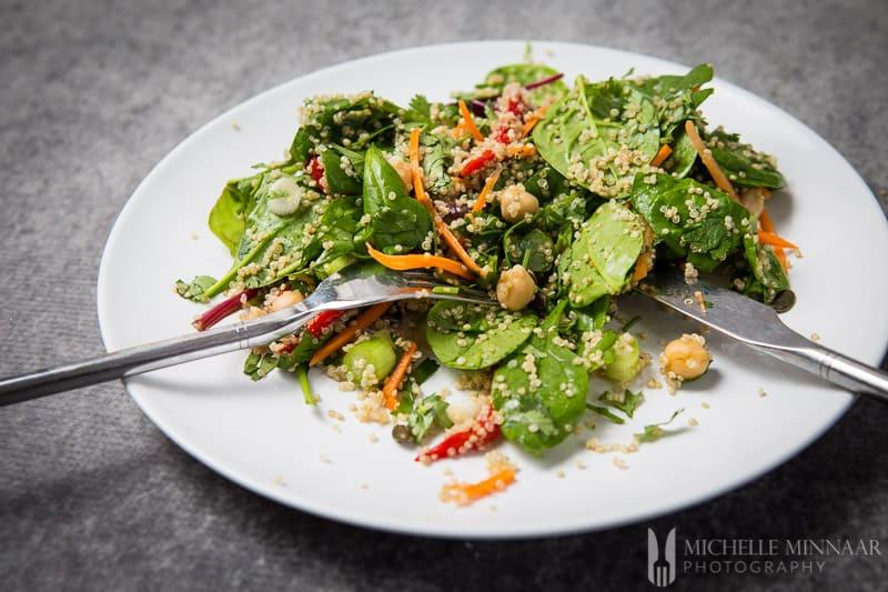 Salad Vegan Quinoa