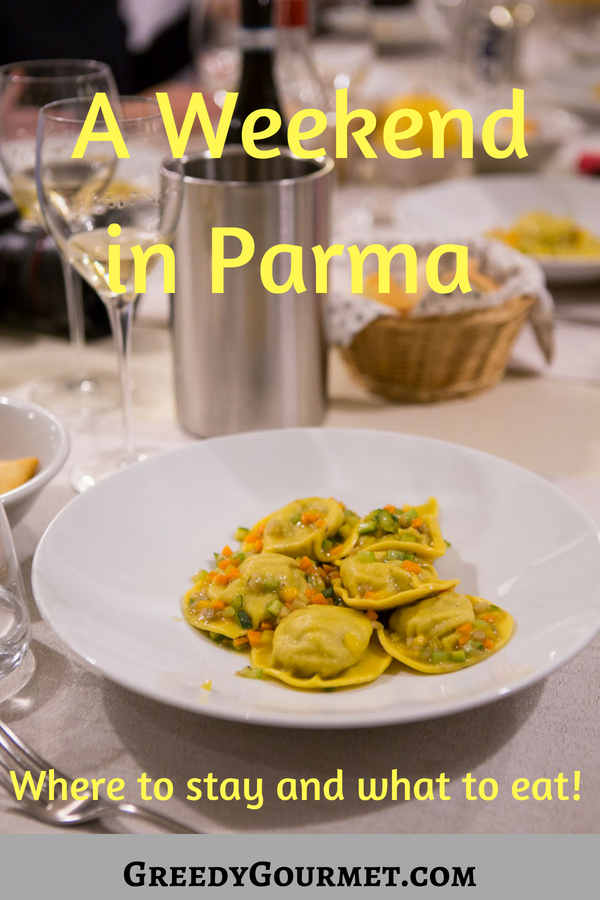 A weekend in Parma Pin
