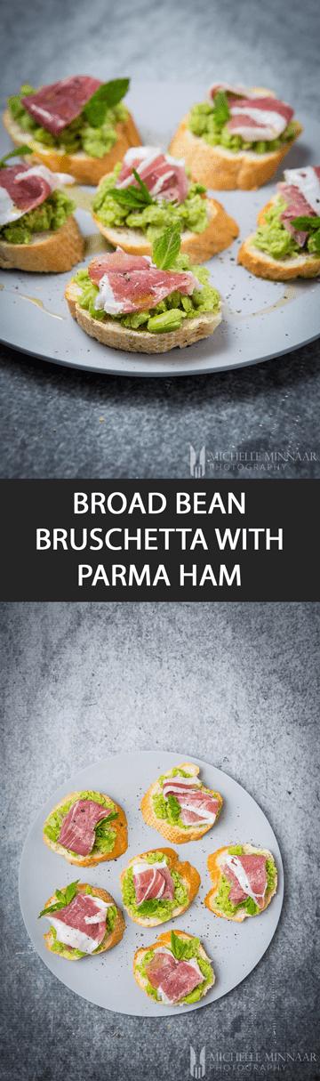 Broad Bean Bruschetta