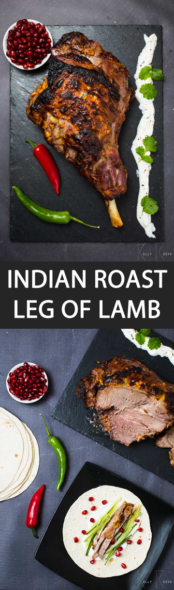 Indian Roast Lamb