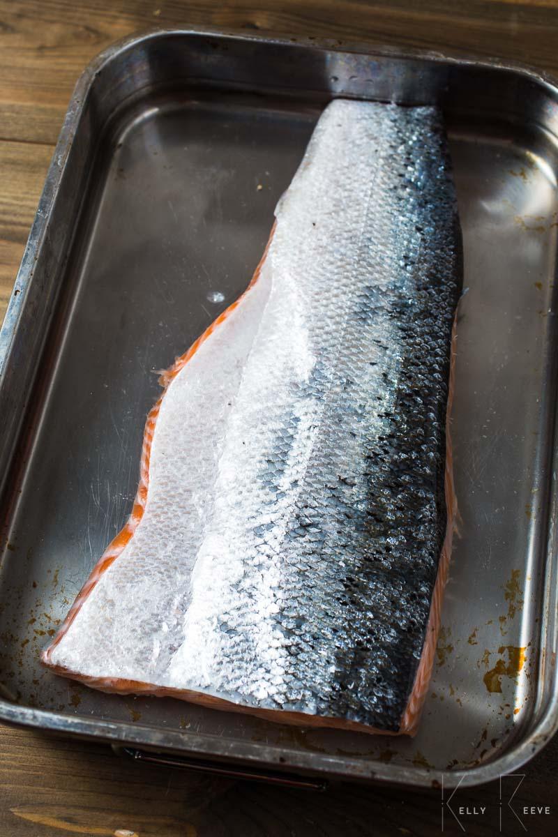 Salmon Brining