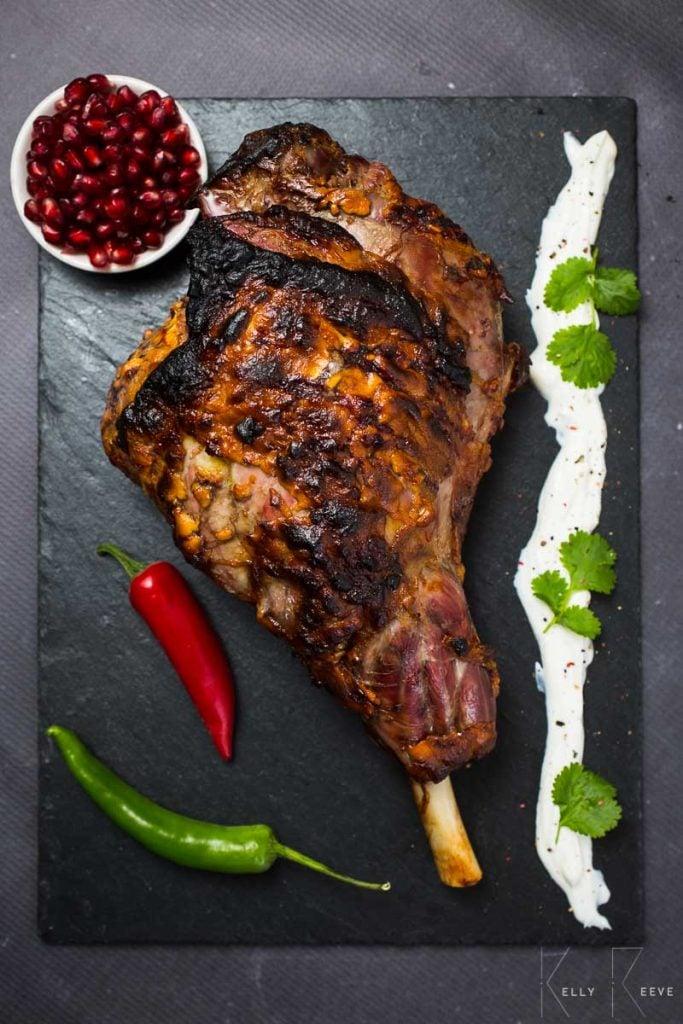 Leg of Lamb Indian Roast