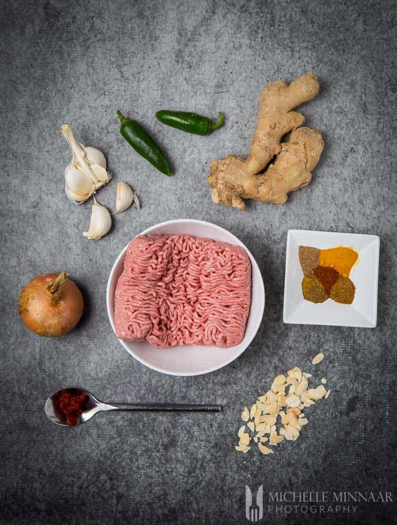 Ingredients Lamb Meatball