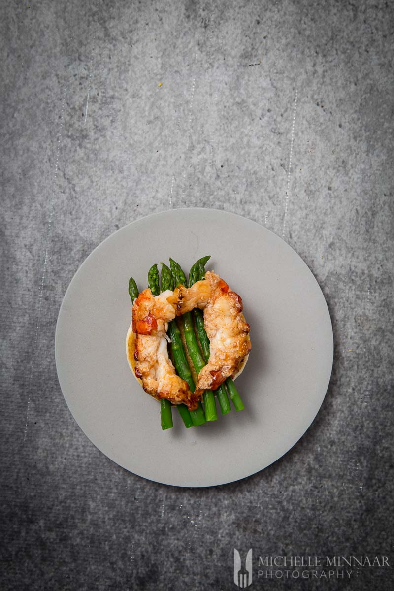 Asparagus Muffin Lobster