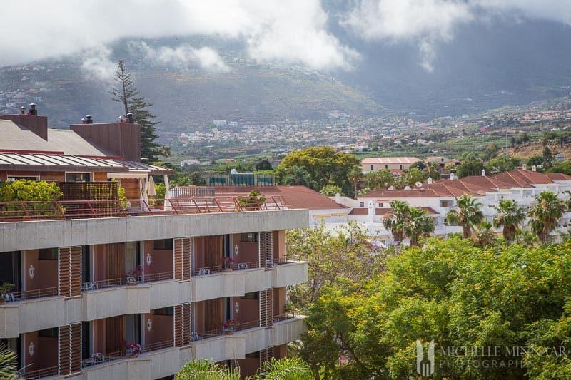Hotel Botanico views