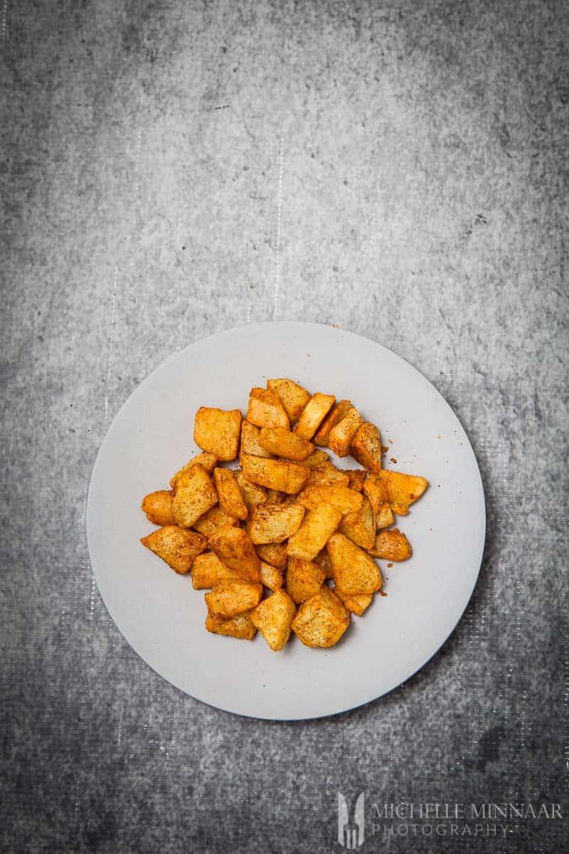 Paprika Potatoes Roasted Smoked