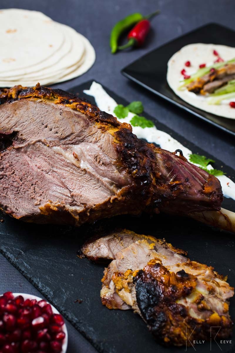 Roast Lamb Sliced