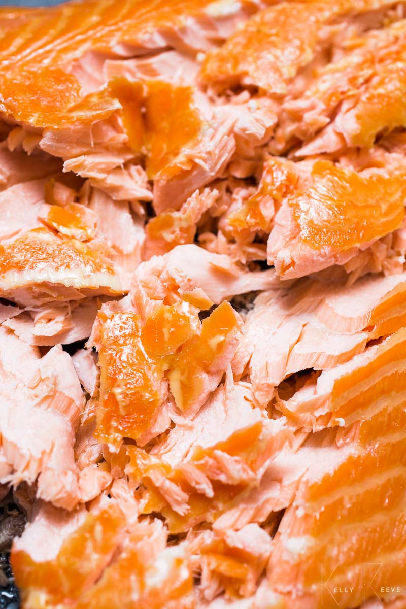 Flakes Smoked Salmon