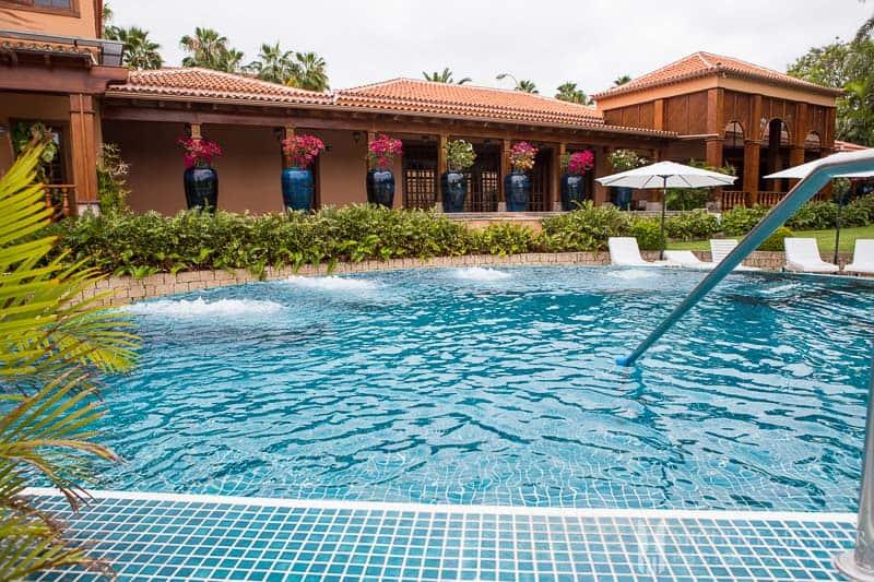 Massage pools