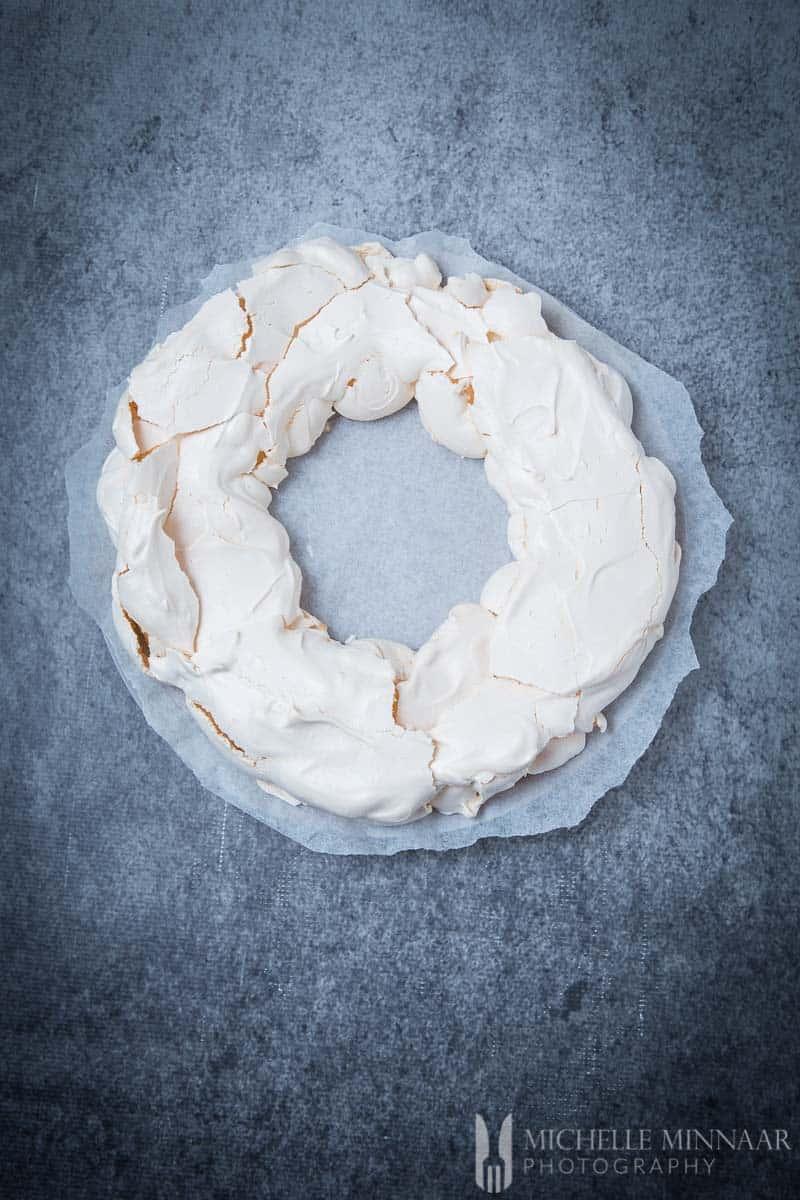 Meringue Baked
