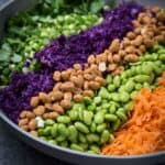 Peanut Carrot Cabbage Edamame