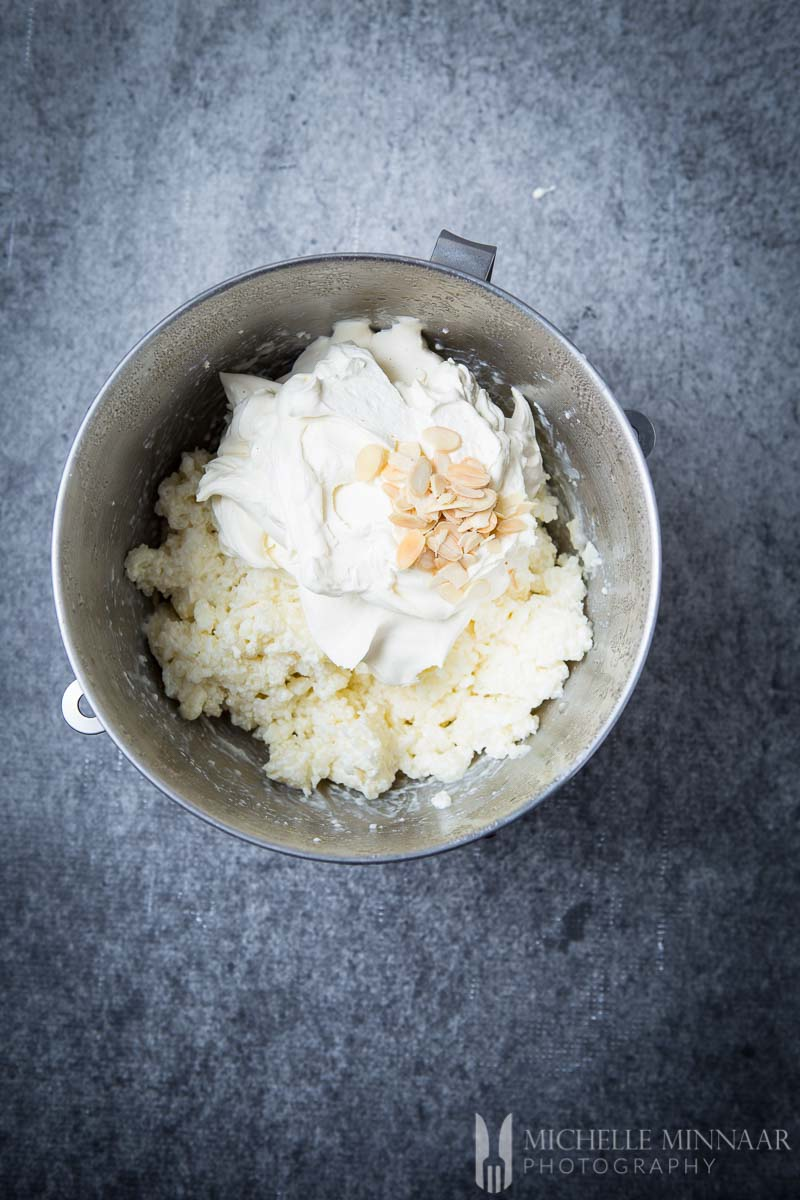 Almonds Rice Cream