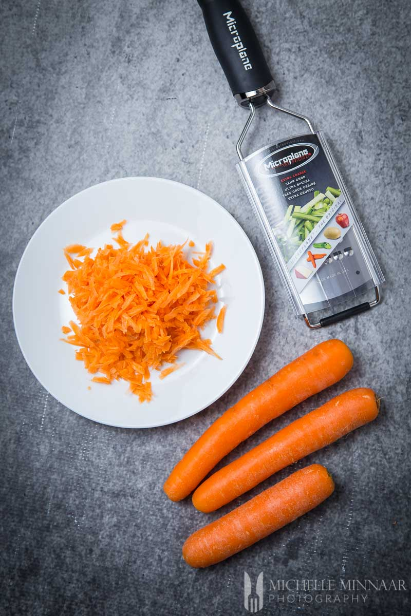 Carrots Shredded