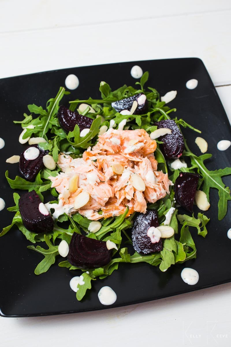 Salmon Salad Smoked